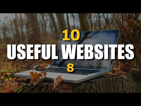 10 Useful Websites You Wish You Knew Earlier! - November 2017