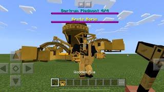 Bendy the ink machine Boss Fight Addon in Minecraft PE