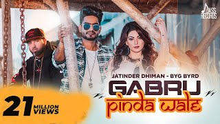 Gabru Pinda Wale | ( Full Song) | Jatinder Dhiman | Byg Byrd | New Punjabi Songs 2019