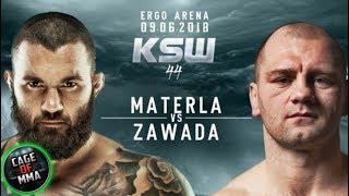 KSW 44 - Michał Materla vs Martin Zawada