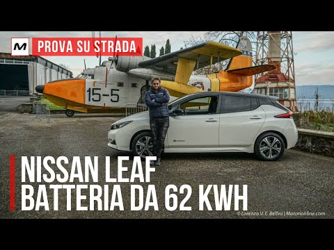 Nissan Leaf e+ 62 kWh | Prova su strada con la batteria più grande