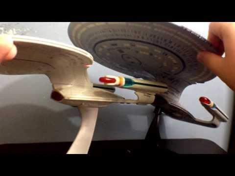 Diamond Select's Star Trek The Next Generation Enterprise D Toy Review