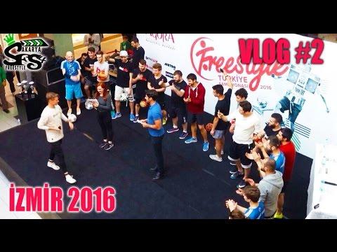 Freestyle Football Türkiye Şampiyonası 2016 - VLog #2 Football Trickers
