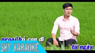 Karaoke Mắm Kho Quê Nhà - Lâm Quang Long   SKY KARAOKE