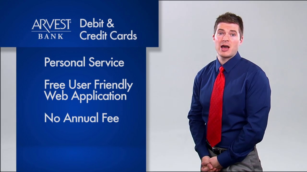 Arvest Bank Business Debit and Credit Cards