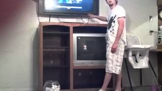 How to disassemble an entertainment center for rea