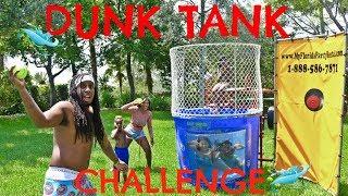 FAMILY DUNK TANK CHALLENGE!!!