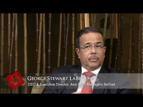 Executive Focus: George Stewart LaBrooy, CEO & Executive Director, Axis REIT Managers Berhad