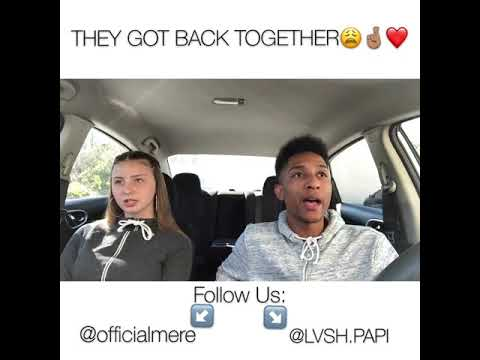 THEY GOT BACK TOGETHER 😍 // @officialmere & @lvsh.papi