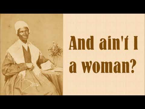 an analysis of sojourn truth converted speech aints i a woman Sojourner truth (c 1797–1883) made the speech associated with the refrain ain't i a woman in may 1851, in akron, ohio, where she gained fame for eloquently and powerfully bringing together the issues of women's rights and slavery.