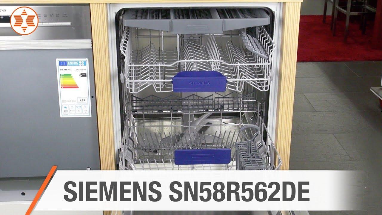 Siemens Einbau Geschirrspuler Sn58r562de Jubilaums Angebot Der