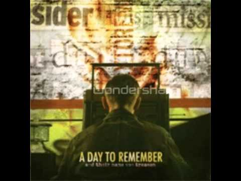 And Their Name Was Treason Full Album -  A Day To Remember