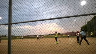 2015 alexis howard st louis aces 12u fastpitch softball pitcher 11 years old