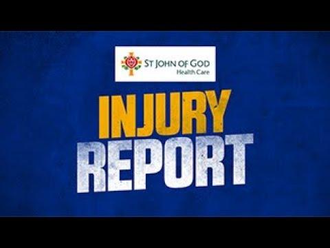SJOG Health Care Injury Update: Rd 6 v Dockers