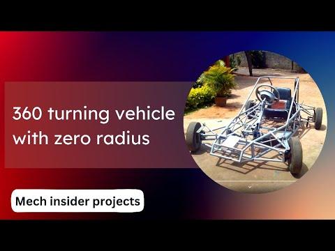 Zero radius turning four wheel steering engineering for Benetton 4 wheel steering
