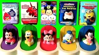 Surprise Mickey Mouse Clubhouse Pop-Up Toys with Awesome Disney Toys Tsum Tsum Minnie Donald