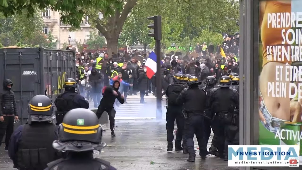Manifestation du 1er mai 2021 : Violences et Tensions à Paris