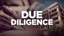 Due Diligence - Real Estate Investing with Grant Cardone
