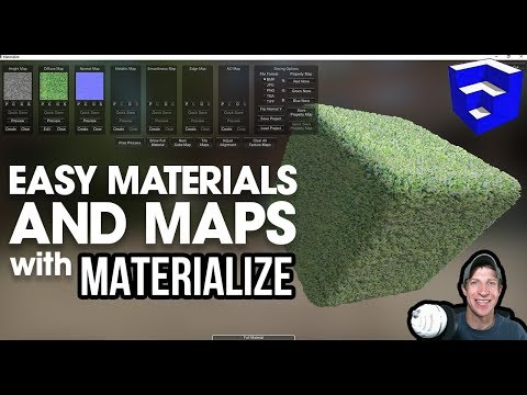FREE Texture And Map Generation With Materialize - Easy Texture Creator