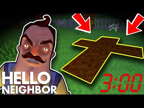 Minecraft Hello Neighbor - Don't Play Hide And Seek At 3:00 am (Minecraft Roleplay)