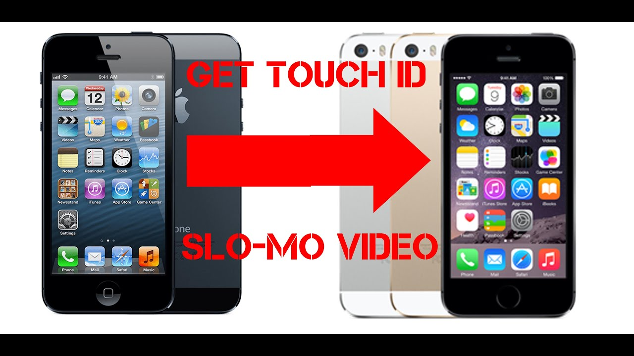 iphone touch id turn iphone 5 into 5s or how to make touch id slomo 120 4584