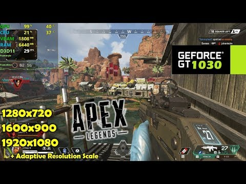 GT 1030 | Apex Legends
