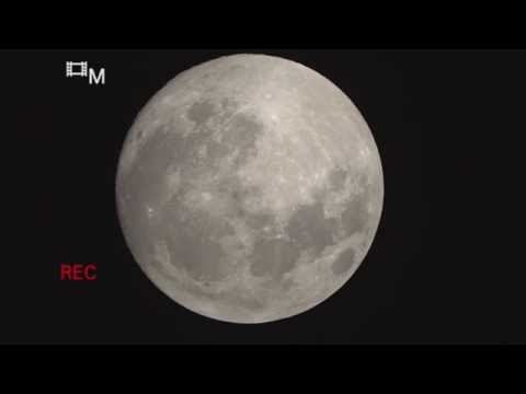 MOON TV LIVE - Waxing Gibbous 99pt4 illum Nearly FULL - Sep 15 - HD1080p