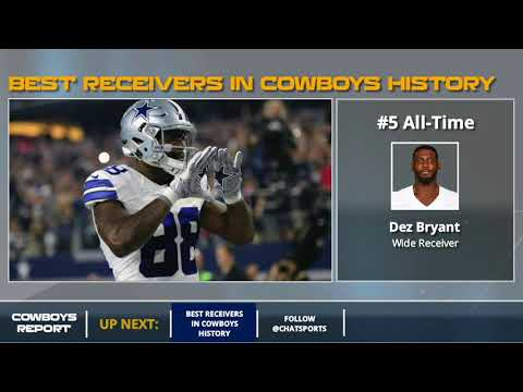 Ranking The 10 Best Dallas Cowboys Receivers Of All-Time: Jason Witten, Michael Irvin Lead The List