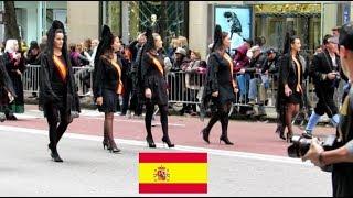ESPAÑA en el Desfile de la Hispanidad, Nueva York, 2018