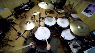 Korn - Word Up Drum Cover (100% GoPro & multicam angle) play along n.5 by AlexGalanti