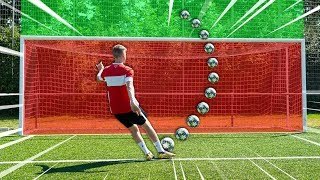 HILARIOUS FOOTBALL DISTANCE CHALLENGE!