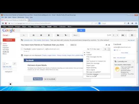 how to change zoom on yahoo mail