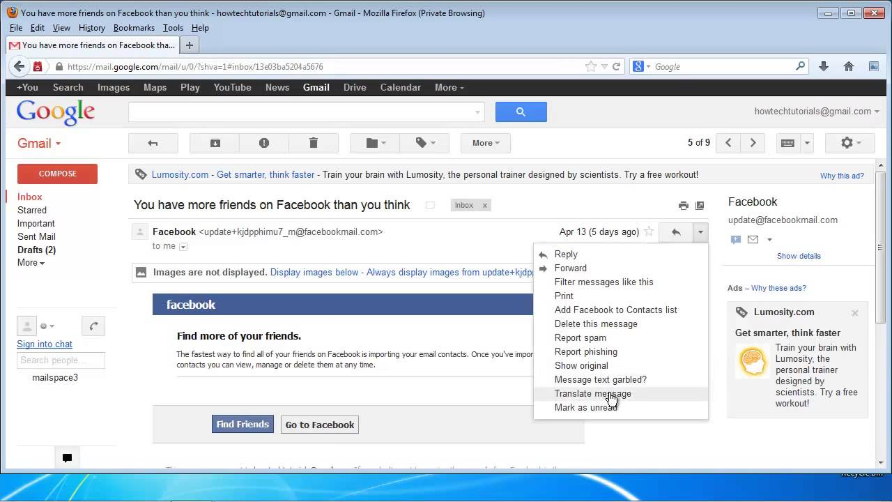 Einrichten Translate How To Translate Your Email In Gmail