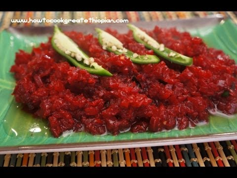 Ethiopian food vegan beets or beetroot recipe amharic english ethiopian food vegan beets or beetroot recipe amharic english injera enjera beyeyanetu forumfinder Choice Image