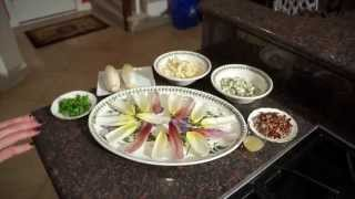 Pear Salad Bites Appetizer Recipe