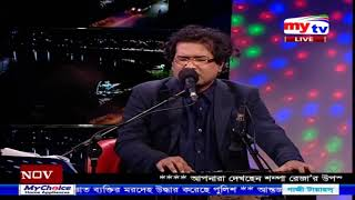 "My Tv musical program ""Amar Gan"" Singer: swani Zubayeer Tabla: Goutam Sarkar"