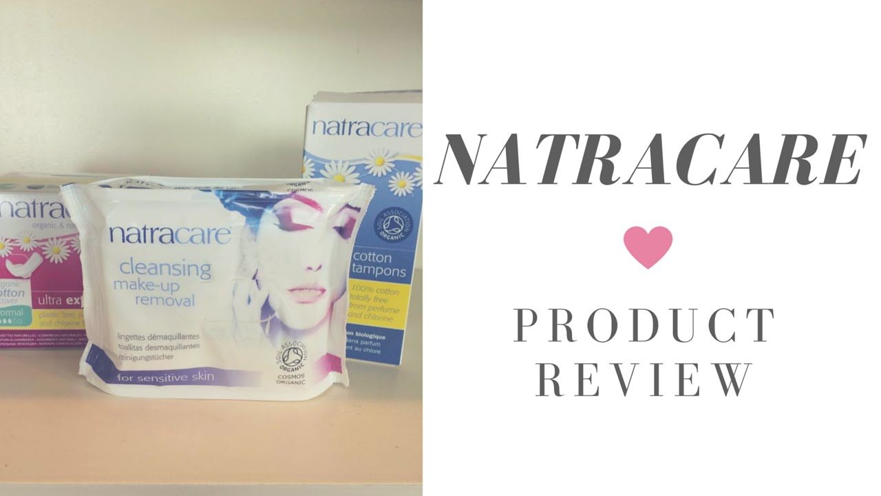 Natracare Organic and Natural Feminine Hygiene Products Review