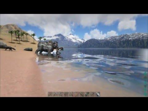 ARK: Survival Evolved - Aztec Pyramid Build (Work in Progress)