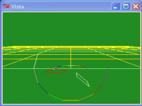 3D Vector Graphics Demonstration