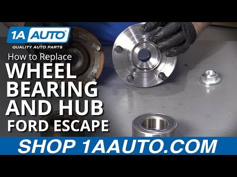 How to Replace Wheel Bearing and Hub 01-12 Ford Escape