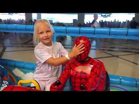 Классная ДЕТСКАЯ ПЛОЩАДКА в аэропорту АНТАЛЬЯ или THE BEST PLAYGROUND for kids !
