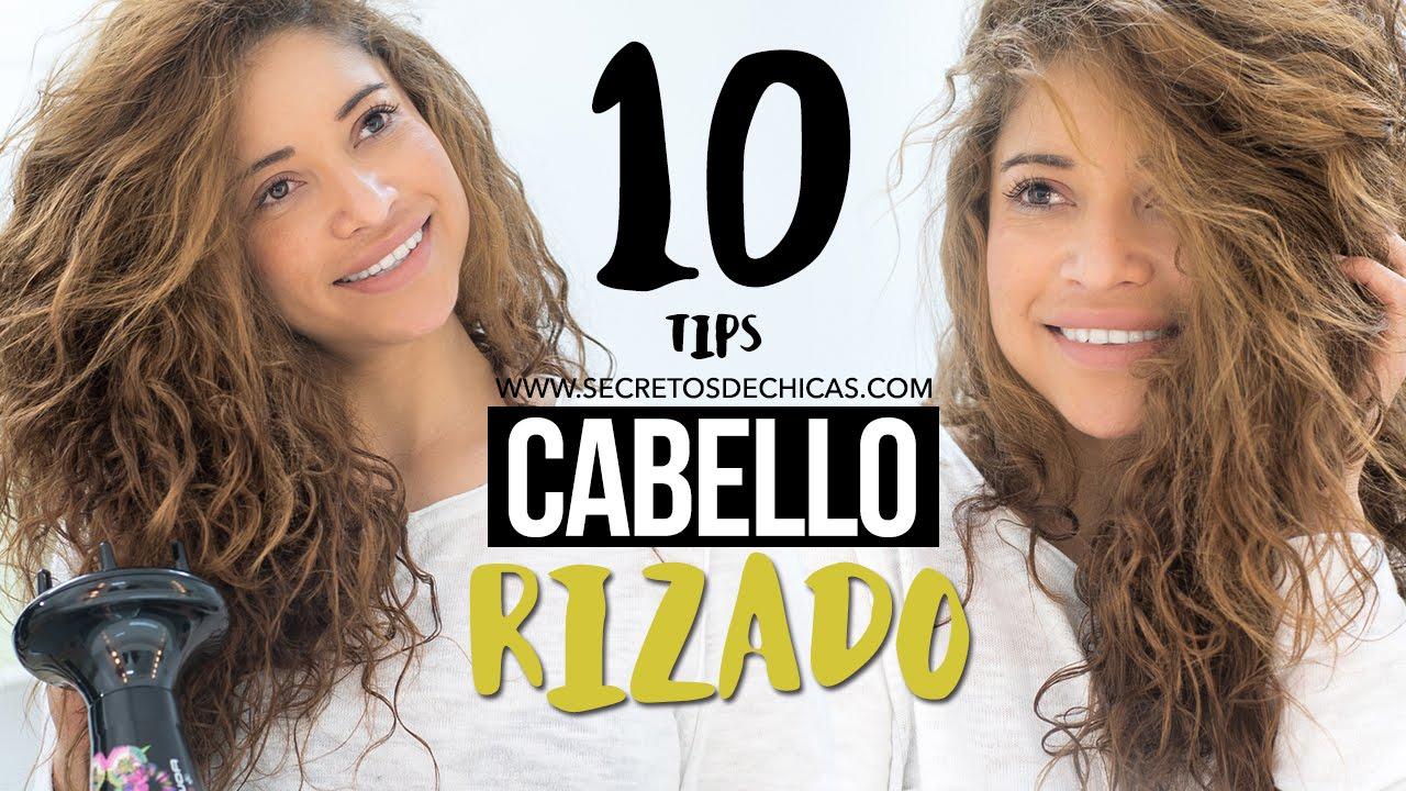 10 Trucos Para El Cabello Rizado Rizos Perfectos Youtube