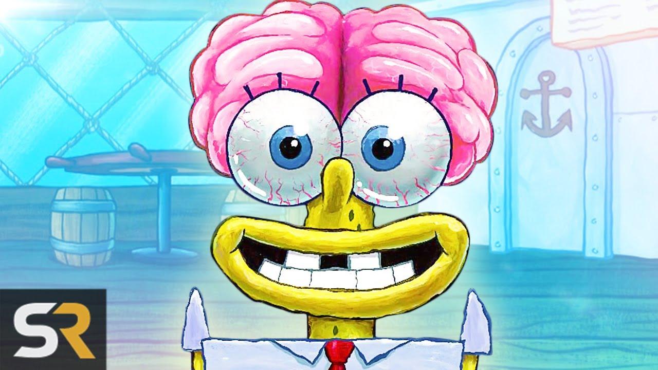 25 spongebob deleted scenes nickelodeon couldnt show