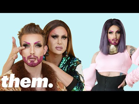 Nico Tortorella Gets a Drag Makeover from Trinity Taylor  Drag Me  them.