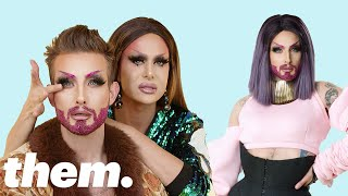 Nico Tortorella Gets a Drag Makeover from Trinity Taylor | Drag Me | them.