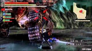 GOD EATER BURST (jpn) gameplay [ Quadriga ]