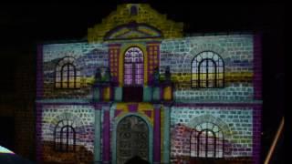 Video Mapping Biblioteca Ecuatortiana Aurelio Espinoza Polit - 27 De Abril 2017