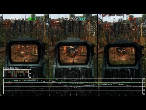 Crysis 3 - GTX 970 Vs R9 290/ R9 290X Gameplay Frame-Rate Tests