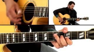 Kentucky Thumbpicking Guitar Lesson - #25 Cannonball Rag - Alonzo Pennington