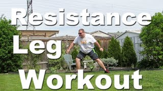 Resistance Band Leg Workout For Basketball Players | Basketball Speed Workouts | Victorem Bands